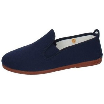 Zapatos Mujer Slip on Javer Zapatilla camping Azul