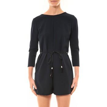 textil Mujer Monos / Petos Nina Rocca Combi-Short Léa noir Negro