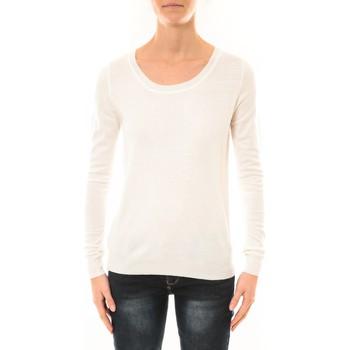 textil Mujer Jerséis Nina Rocca Pull MC7033 blanc Blanco