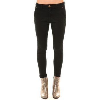 textil Mujer Vaqueros slim Comme Des Filles Comme des Garçons Chino GY123 noir Negro