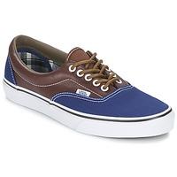 Zapatos Hombre Zapatillas bajas Vans ERA Marino / Marrón