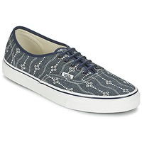 Zapatos Hombre Zapatillas bajas Vans AUTHENTIC Azul / Blanco