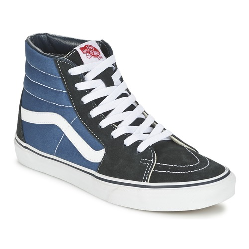 Zapatos Zapatillas altas Vans SK8-HI Marino / Negro