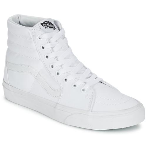 Vans Zapatillas Altas Blanco Sk8 Zapatos hi NPkn0w8OX