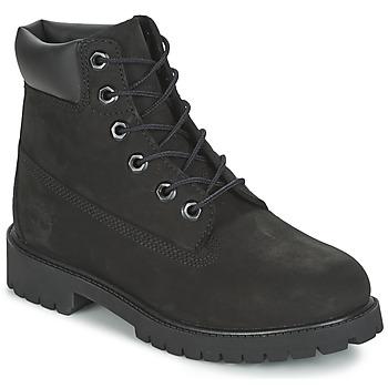 Zapatos Niño Botas de caña baja Timberland 6 IN PREMIUM WP BOOT Negro