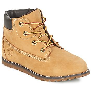 Zapatos Niños Botas de caña baja Timberland POKEY PINE 6IN BOOT WITH Trigo