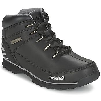 Zapatos Hombre Botas de caña baja Timberland EURO SPRINT HIKER Negro / Reflectante