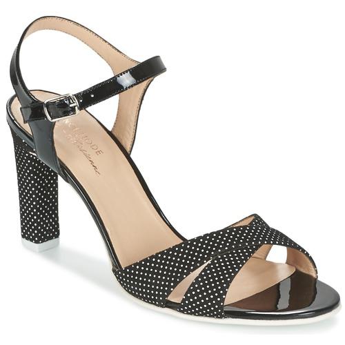 Casual salvaje Zapatos especiales France Mode ZEN Negro