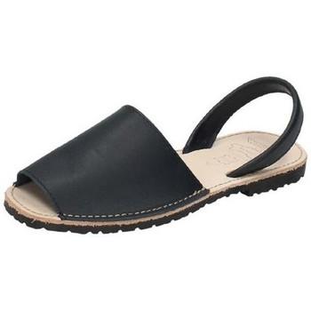 Zapatos Mujer Sandalias Whetis Menorquinas de piel Azul