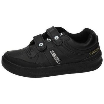 Zapatos Hombre Zapatillas bajas Paredes Tenis  velcro Negro