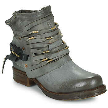 Botines / Low boots Airstep / A.S.98 SAINT Negro / Gris 350x350