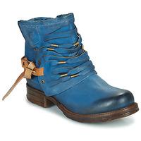 Zapatos Mujer Botas de caña baja Airstep / A.S.98 SAINT Azul / Pato
