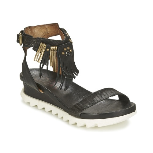 Airstep / A.S.98 FLOOD Negro - Envío gratis | ! - Zapatos Sandalias Mujer