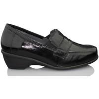Zapatos Mujer Mocasín Dtorres GANTE TERAPEUTICO NEGRO NEGRO
