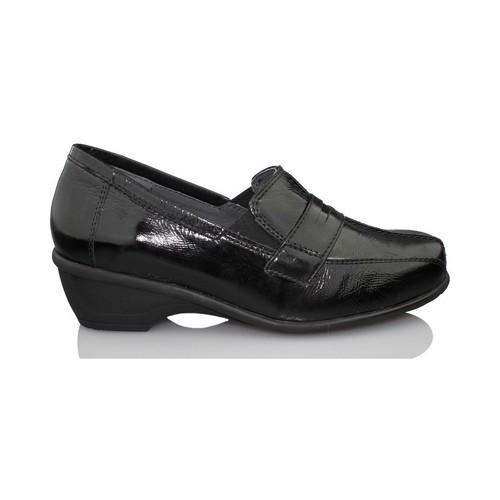 Zapatos Mujer Mocasín Dtorres GANTE TERAPEUTICO NEGRO