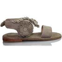 Zapatos Niños Sandalias Oca Loca OCA LOCA VALENCIA SANDALIA BEBE PIEL ANTE TAUPE