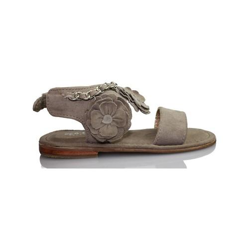 Zapatos Niños Sandalias Oca Loca OCA LOCA VALENCIA  ANTE TAUPE