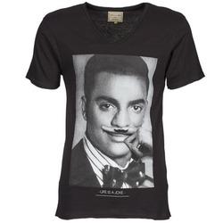 textil Hombre camisetas manga corta Eleven Paris MARLTON M Negro