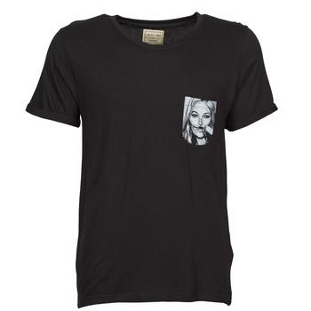 textil Hombre camisetas manga corta Eleven Paris KMPOCK Negro
