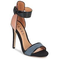 Zapatos Mujer Sandalias Ravel Pansy Nude / Negro