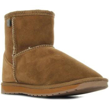 Zapatos Mujer Botas de caña baja EMU Platinum Stinger Mini Chestnut Marrón