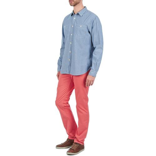 Pantalones Textil Chinos Hombre Rojo Lightweight Twill Dockers Alpha Pwn0Ok
