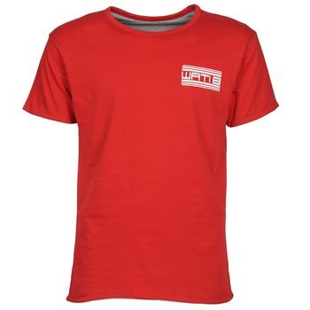 textil Hombre camisetas manga corta Wati B WATI CREW Rojo