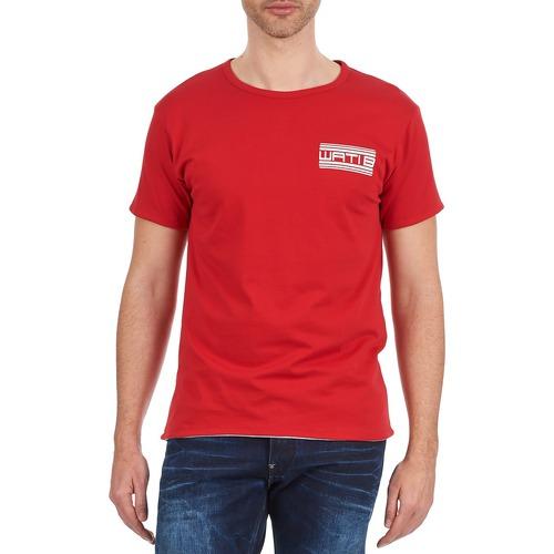 Rojo Manga Hombre Wati Camisetas Corta Crew B Textil 8m0vONnw