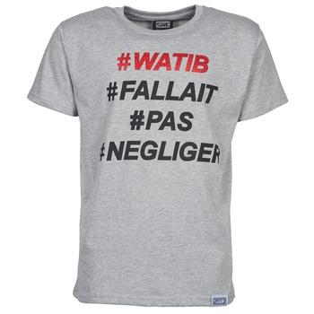 textil Hombre camisetas manga corta Wati B NEGLIGER Gris