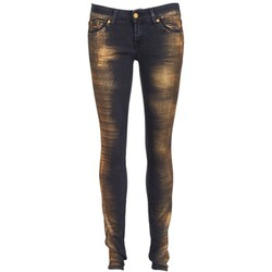 textil Mujer vaqueros slim 7 for all Mankind OLIVYA Azul