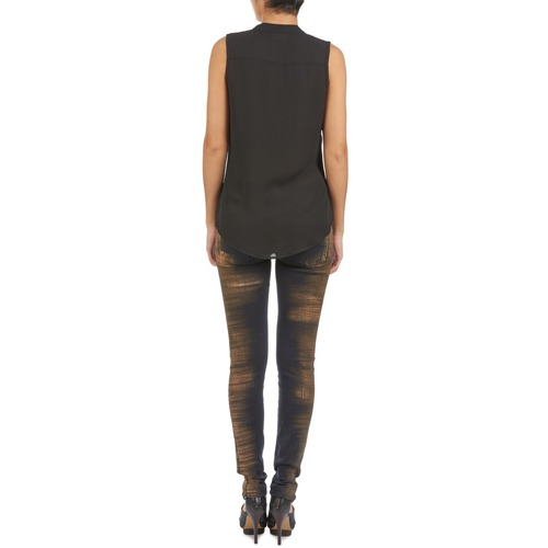 7 Mujer Textil Slim All Mankind Vaqueros Olivya For Azul nwP80Ok