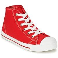 Zapatos Hombre Zapatillas altas Yurban WAXI Rojo