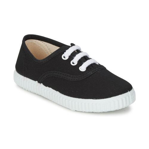 Zapatos Niños Zapatillas bajas Citrouille et Compagnie KIPPI BOU Negro