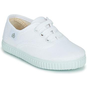 Zapatos Niños Zapatillas bajas Citrouille et Compagnie KIPPI BOU Blanco