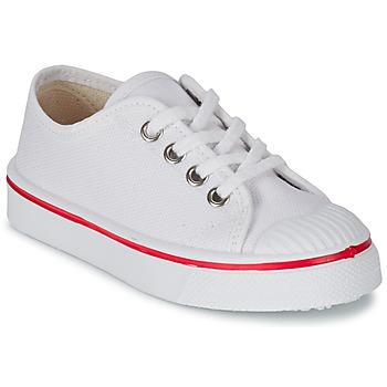 Zapatos Niños Zapatillas bajas Citrouille et Compagnie PANA BEK Blanco