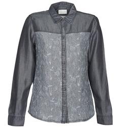textil Mujer camisas Esprit Denim Blouse Gris