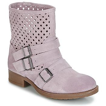 Zapatos Mujer Botas de caña baja Casual Attitude DISNELLE Rosa