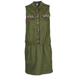 textil Mujer vestidos cortos Alba Moda HELDBLUSENKLEID Kaki