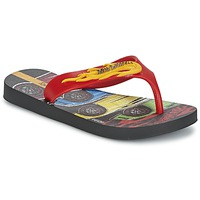 Zapatos Niño Chanclas Ipanema HOT WHEELS TYRE Rojo / Negro
