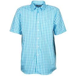 textil Hombre camisas manga corta Pierre Cardin 539236202-140 Azul