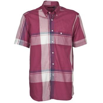 textil Hombre camisas manga corta Pierre Cardin 538536226-860 Malva / Violeta