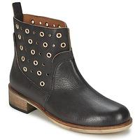 Zapatos Mujer Botas de caña baja Hugo Boss Orange 50266292 Negro