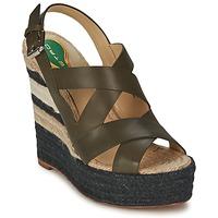 Zapatos Mujer Sandalias Etro 3948 Marrón