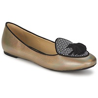 Zapatos Mujer Bailarinas-manoletinas Etro 3922 Oro