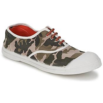 Zapatos Mujer Zapatillas bajas Bensimon TENNIS CAMOFLUO Camuflaje