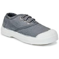 Zapatos Niños Zapatillas bajas Bensimon TENNIS LACET Gris / Medio