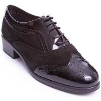 Zapatos Mujer Derbie 24 Hrs ZAP CORDON 24 HRS Negro