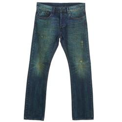 textil Hombre Vaqueros rectos Ünkut Six Azul