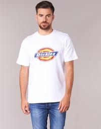 textil Hombre camisetas manga corta Dickies HORSESHOE Blanco