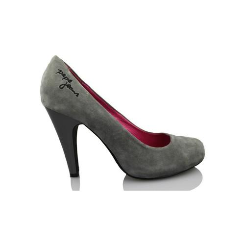 Zapatos Mujer Zapatos de tacón Pepe jeans HI HEEL COURT SHOE GRIS